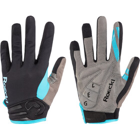 Roeckl Mileo Cykelhandsker, black/turquoise